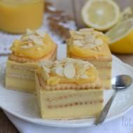 Sernik gotowany na herbatnikach z Lemon Curd