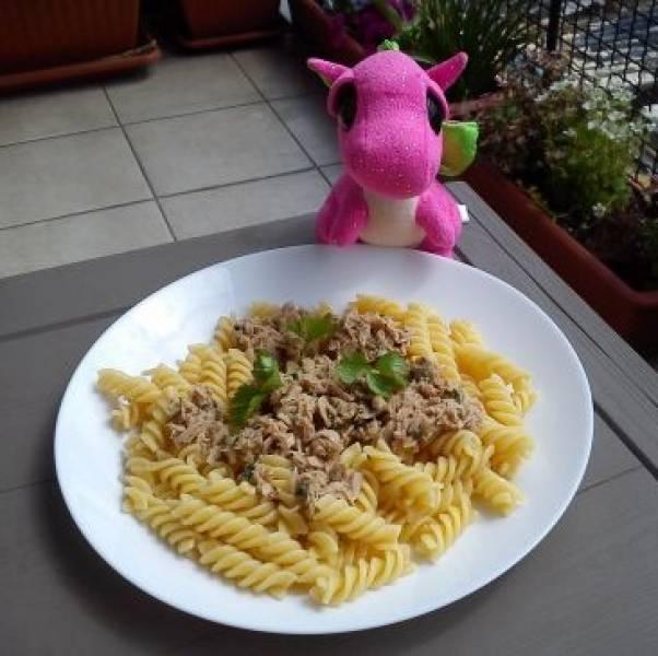 Makaron z tuńczykiem