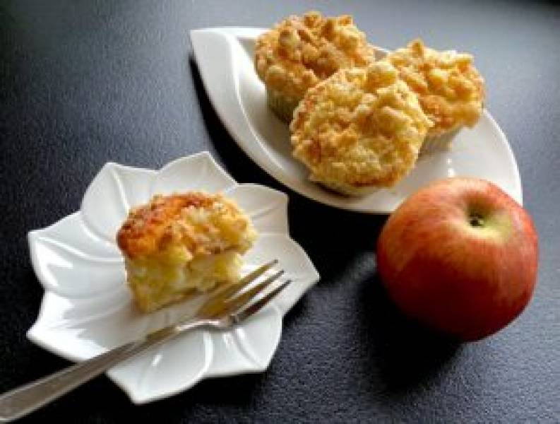 Babeczki jogurtowo-jabłkowe