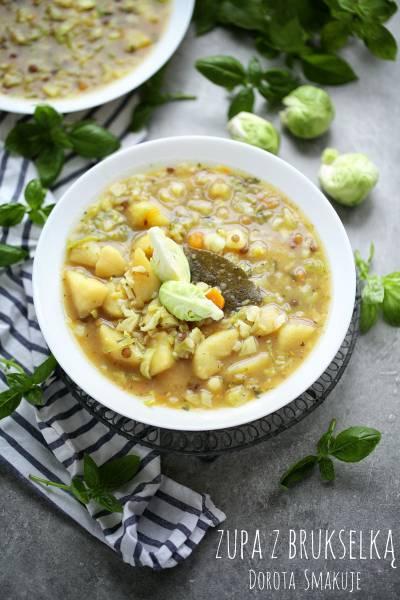 Zupa ziemniaczana z brukselką