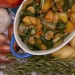 Boćwina z ziemniakami czyli
