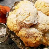 Ciastka babeczkowe z dynią i nutą pomarańczy