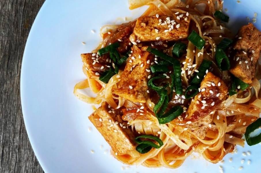 Ulubione smażone tofu w wersji koreańskiej w 30 minut