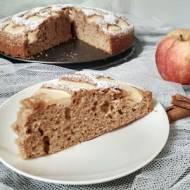 Ciasto cynamonowe z jabłkami.