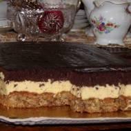 Ciasto orzechowo- czekoladowe 4