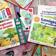 Łamigłówki dla przedszkolaka i Zabawy logiczne dla ucznia Kapitan Nauka - recenzja
