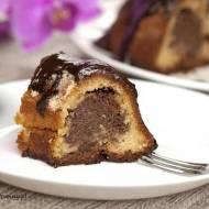 Włoskie ciasto z mascarpone. Ciasto marmurkowe.