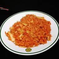 Leniwe kimchi gołąbki