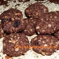 Owsiane ciasteczka czekoladowe