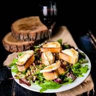 Sałatka orzechowa czyli La Salade à L'Huile de Noix Faceta w Kuchni