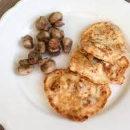 Kotlety siekane z piersi kurczaka z mozzarellą