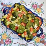 Zdrowa zapiekanka brokułowa z mięsem z indyka
