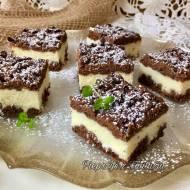 Kruche ciasto serowo-kokosowe
