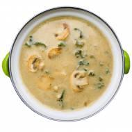 Zupa pieczarkowa z mlekiem kokosowym
