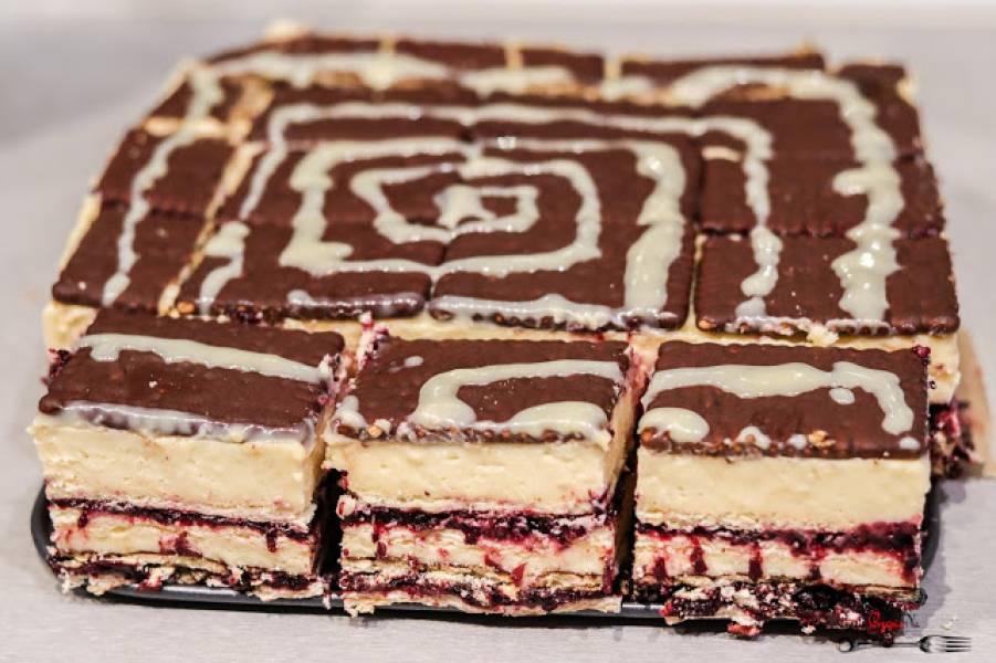 Labirynt - ciasto bez pieczenia