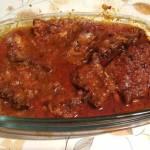 Pieczone żeberka w ketchupie i miodzie