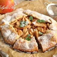 Galette (rustykalna tarta) z jabłkami