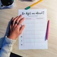 Jak zaplanować posiłki w tygodniu i dlaczego jest to przydatne… spróbuj!