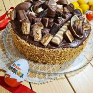 Tort czekoladowy z masłem orzechowym