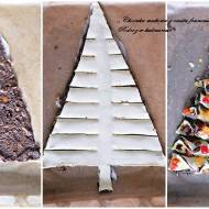 ,,Choinka makowa z ciasta francuskiego''