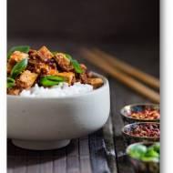 Syczuańskie mapo tofu –  pikantne danie z tofu i wołowiny