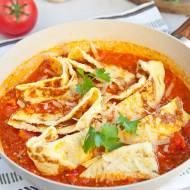 Omlet z pomidorami i serem. Świetny na śniadanie albo szybki obiad. PRZEPIS