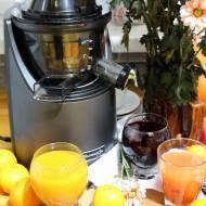 Domowy sok z buraka, mandarynek i grejpfrutów