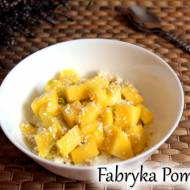 Kokosowa jaglanka z mango