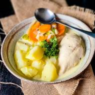 Warzywna Zupa z kurczakiem domowy belgijski przepis