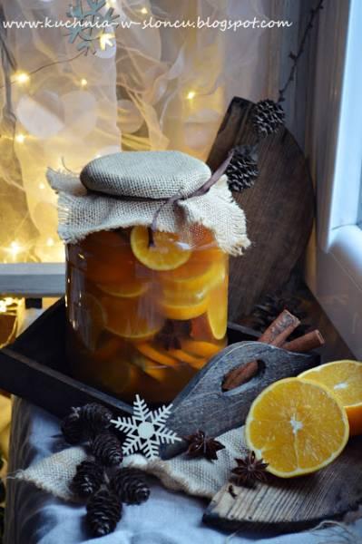 Świąteczna nalewka mandarynkowa