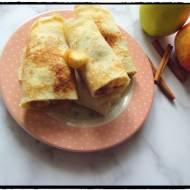 Podwójnie jabłkowe naleśniki z pigwą