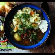 Zupa grzybowa z suszonymi grzybami
