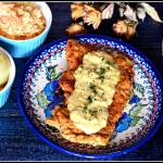 Filet z kurczaka w sosie serowym