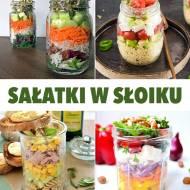 10 pysznych przepisów na sałatki w słoiku