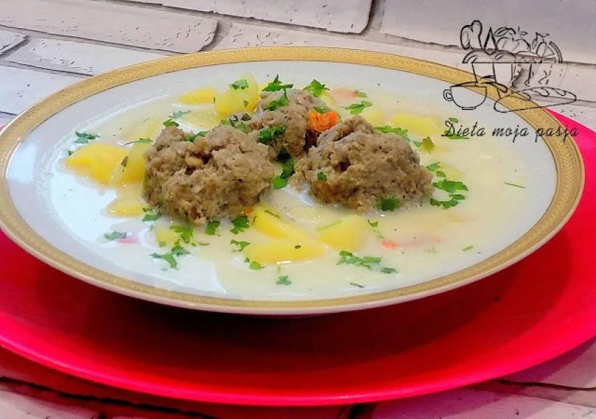 Kartoffelsuppe - niemiecka zupa ziemniaczana
