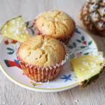 Muffinki ananasowo-kokosowe