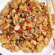 Kkanpunggi – pikantny smażony kurczak po koreańsku