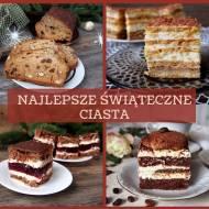 Najlepsze ciasta na Boże Narodzenie 2020