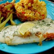 Ryba po alzacku z sosem cytrynowym