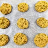 Pieczone mini kotleciki z ciecierzycy