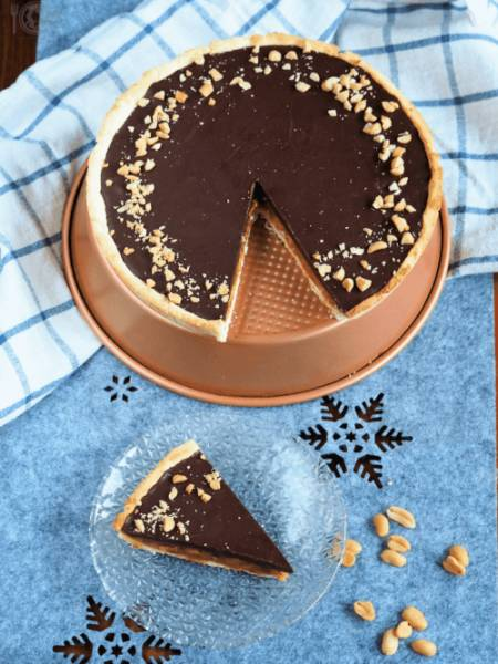 Keto tarta Snickers (Paleo, LowCarb)