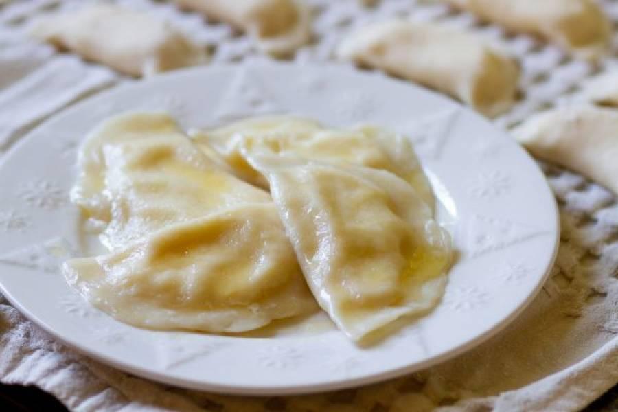 Pierogi z serem na słodko