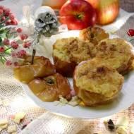 Pieczone jabłka z kruszonką