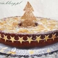 Świąteczne ciasto migdałowe z kawą