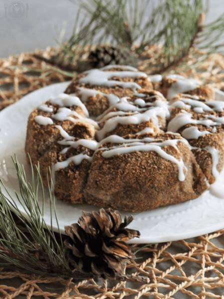 Keto cinnamon rolls (Paleo, LowCarb)
