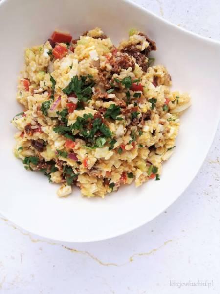 Sałatka ryżowa z suszonymi pomidorami / Rice and Sun Dried Tomatoes Salad