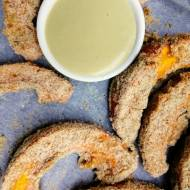 Austria - Pieczone sznycle z dyni z wegańskim majonezem z olejem z pestek dyni