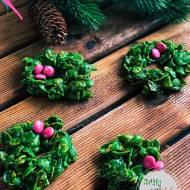 Chrupiące świąteczne wianuszki Bożonarodzeniowe