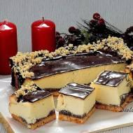Sernik z białą czekoladą - przepis