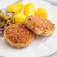 Kotlety rybne mielone. Idealne na obiad, ale bardzo dobrze smakują też na zimno. PRZEPIS